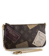 7A Replica louis Vuitton Monogram Canvas Mini Pochette Accessoires Stamp M6 Online