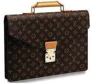 7A Replica Louis Vuitton Monogram Canvas Serviette Conseiller M53331 Online