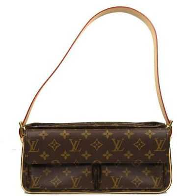 7A Replica Louis Vuitton Monogram Canvas Viva Cite MM M51164 Online