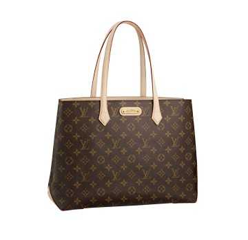 7A Replica Louis Vuitton Monogram Canvas Wilshire MM M45644 Online