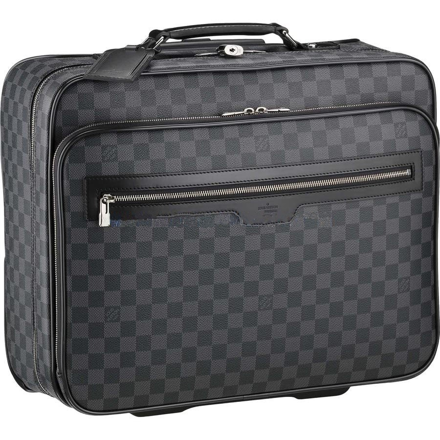 Cheap Louis Vuitton Pilot Case Damier Graphite Canvas N23206