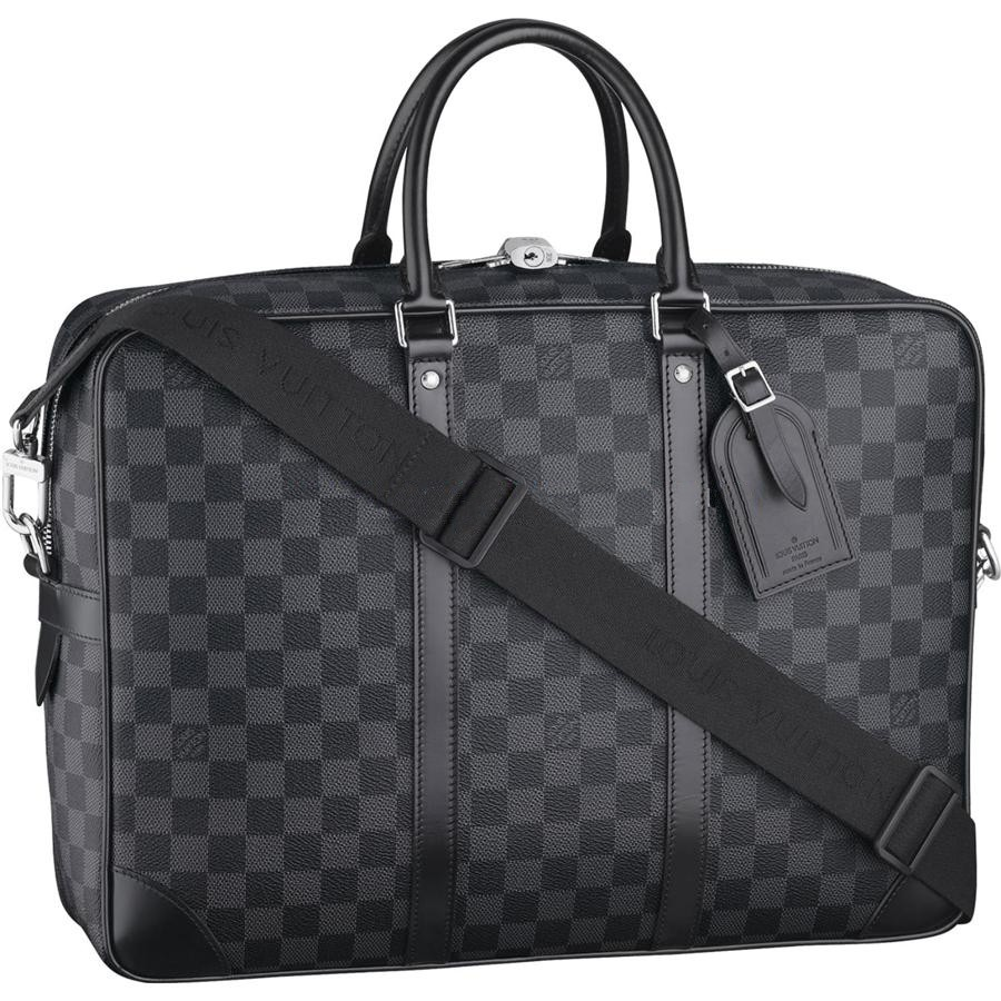 Cheap Louis Vuitton Porte-Documents Voyage GM Damier Graphite Canvas N41123