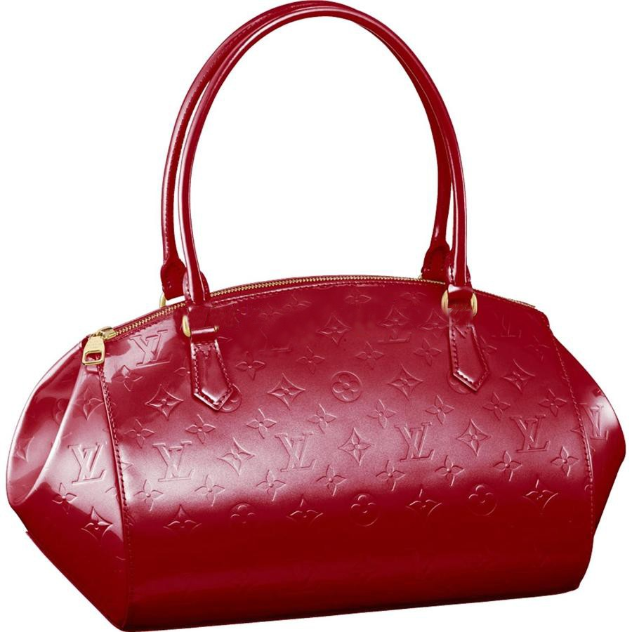 AAA Louis Vuitton Sherwood GM Monogram Vernis M91490 Replica