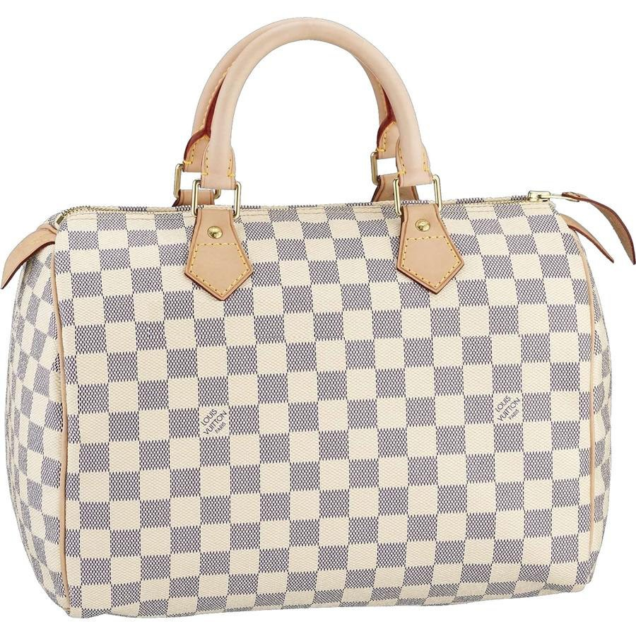7A Replica Louis Vuitton Speedy 30 Damier Azur Canvas N41533 Handbags