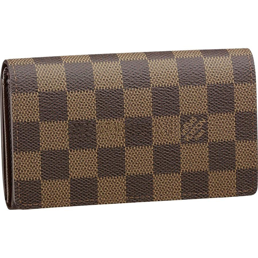 Best Replica Louis Vuitton Tresor Wallet Damier Ebene Canvas N61736