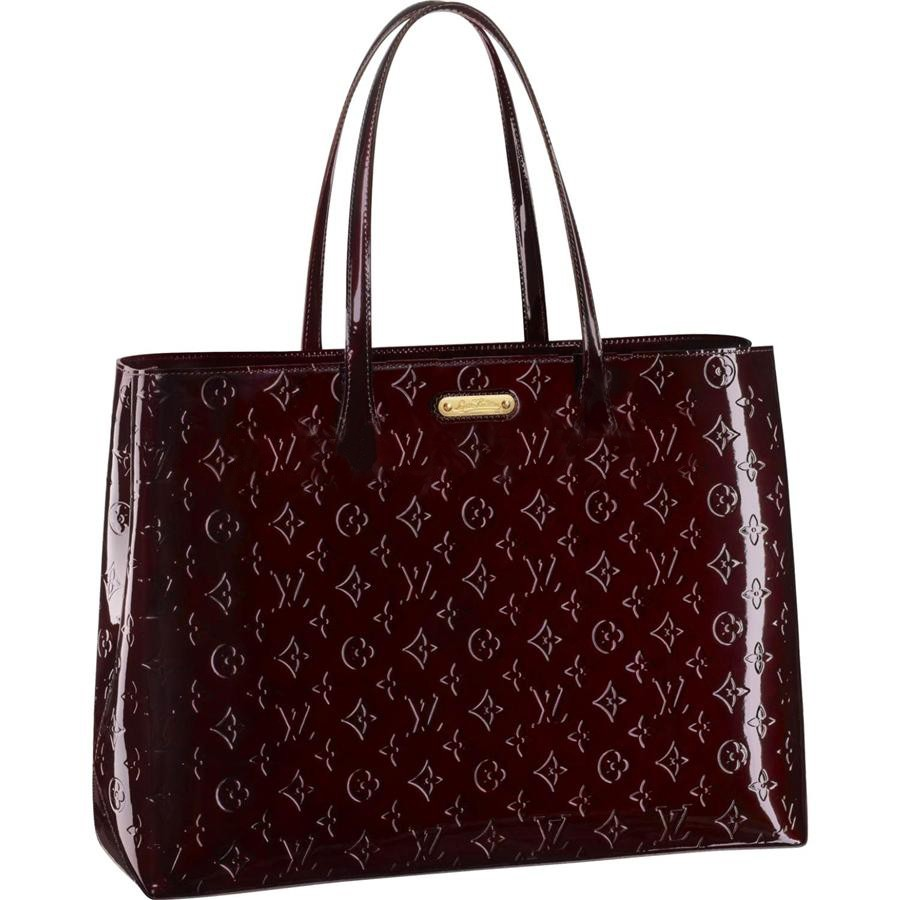 AAA Louis Vuitton Wilshire GM Monogram Vernis M91649 Replica