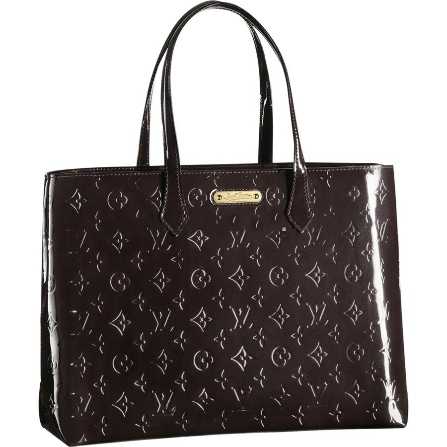 AAA Louis Vuitton Wilshire MM Monogram Vernis M91440 Replica