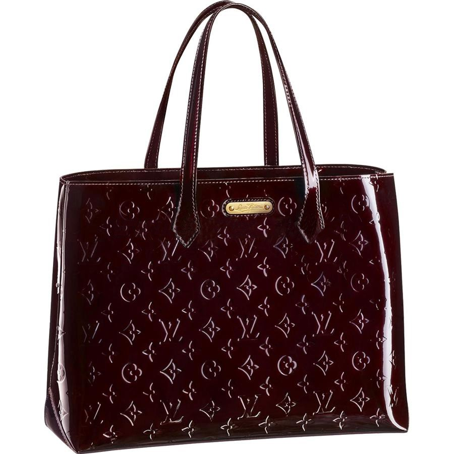 AAA Louis Vuitton Wilshire MM Monogram Vernis M91645 Replica