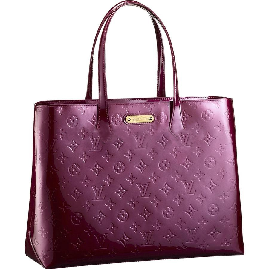AAA Louis Vuitton Wilshire MM Monogram Vernis M91646 Replica