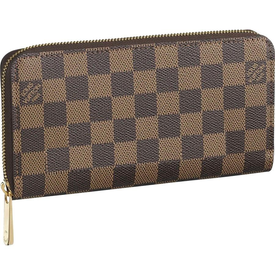 Best Replica Louis Vuitton Zippy Wallet Damier Ebene Canvas N60015