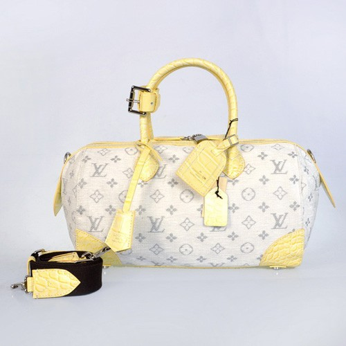 High Quality Louis Vuitton bag M40709 yellow 2012 new arrival