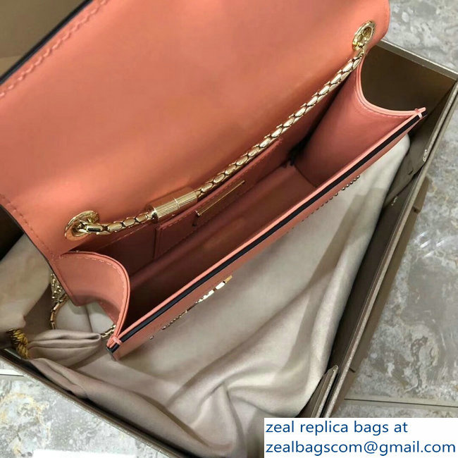 Bvlgari Pop Heart Serpenti Forever Flap Cover Small Bag Nude Pink 2018_2803114739