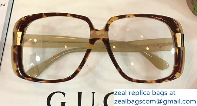 Gucci Oversize Round-Frame Acetate Sunglasses 506217 05 2018_2803115414