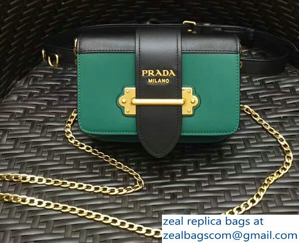 Prada Cahier Belt Bag 1BL004 Green 2018