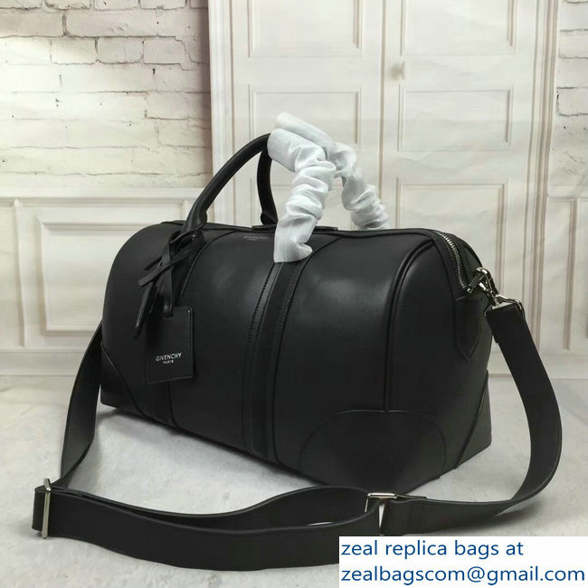 609293bba0b3 Givenchy Leather Weekender Duffle Travel Luggage Carry On Bag Black ...