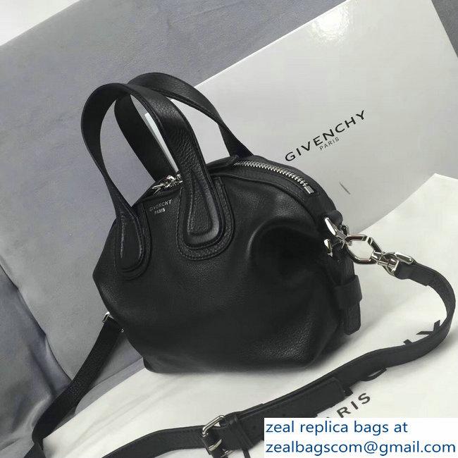 Givenchy Nightingale Micro Mini Tote Top Handle Bag Black   www ... f2fea38824237
