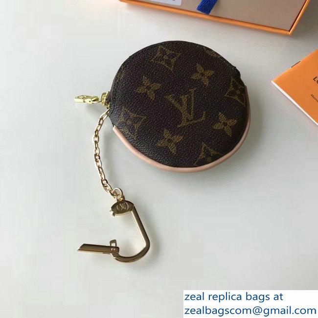 Louis Vuitton Monogram Canvas Round Coin Purse M61926 2018   www ... a4b6456cd8912