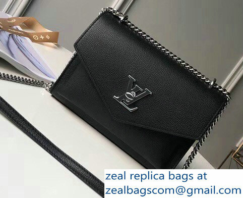 Louis Vuitton Mylockme BB Bag M51418 Black 2018