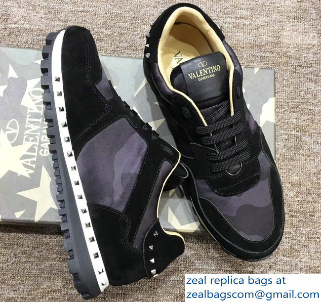 Valentino Camouflage Studded Lovers Sneakers 02 2018