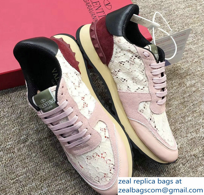 Valentino Lace Rockrunner Sneakers 02 2018
