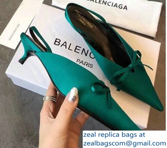 Balenciaga 2018 Pointed-Toe Mules discounts sale online cheap sale 2015 new sale official SS6no9g