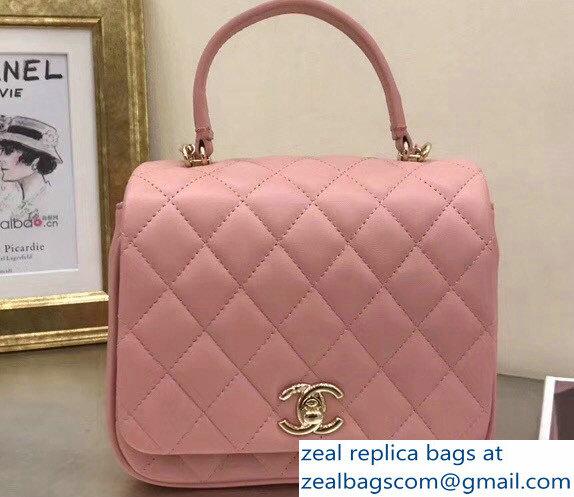 c1e4fb31eab2 Chanel Citizen Chic Mini Flap Bag A57042 Pink 2018   www.zealbag.ru
