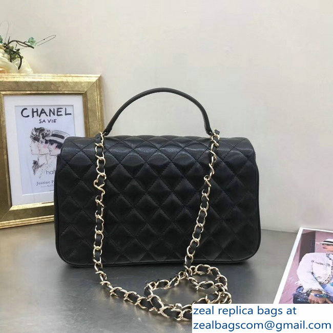 1cbf34ebdb0 Chanel Citizen Chic Small Flap Bag A57043 Black 2018   www.zealbag.ru