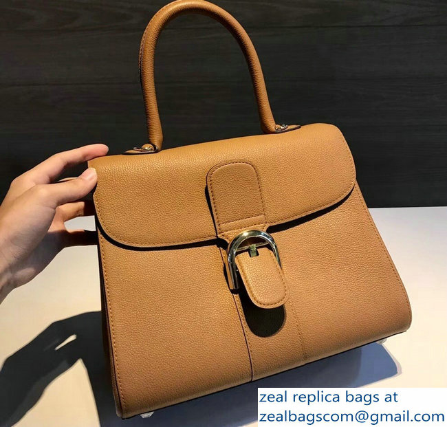 Delvaux Brillant Medium Tote Bag In Clemence Leather Brown