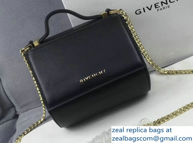 Givenchy Pandora Box Mini Bag Gold Chain Black 2018   www.zealbag.ru 20c38de0d948c