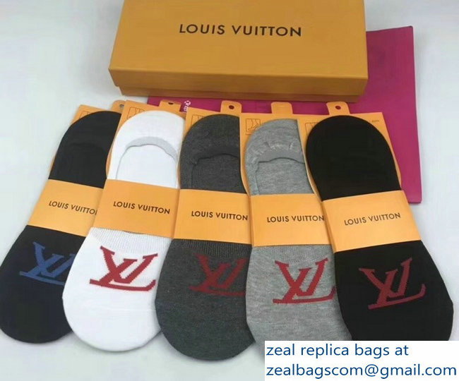 Louis Vuitton Cotton Socks LV03