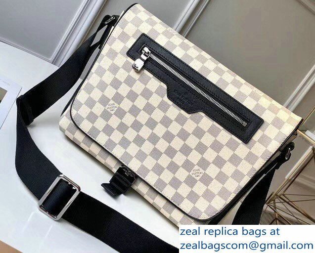 Louis Vuitton Matchpoint Messenger Bag N40019 Damier Coastline Canvas 2018