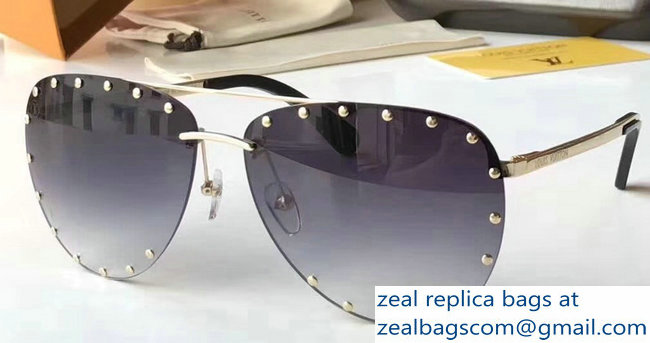 Louis Vuitton Tiny Studs The Party Sunglasses 02 2018