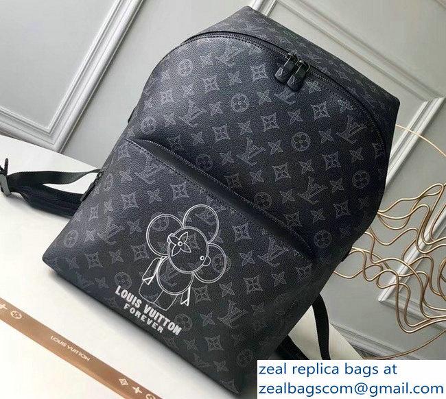 6287be961358 Louis Vuitton Vivienne Mascot Monogram Eclipse Canvas Apollo Backpack Bag  M43675 2018
