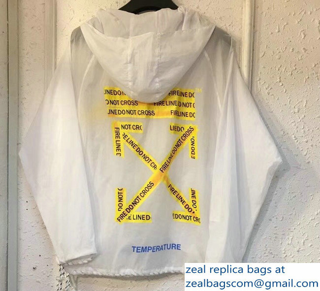 Off-White Windbreaker Jacket Sun Protection Hoodie Clothes 13