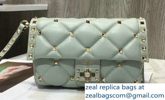 f42ad92f40 Valentino Candystud Clutch Bag Light Green 2018   www.zealbag.ru