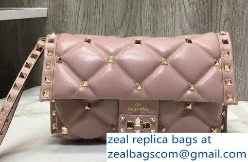 3057d8c84b Valentino Candystud Clutch Bag Nude Pink 2018   www.zealbag.ru