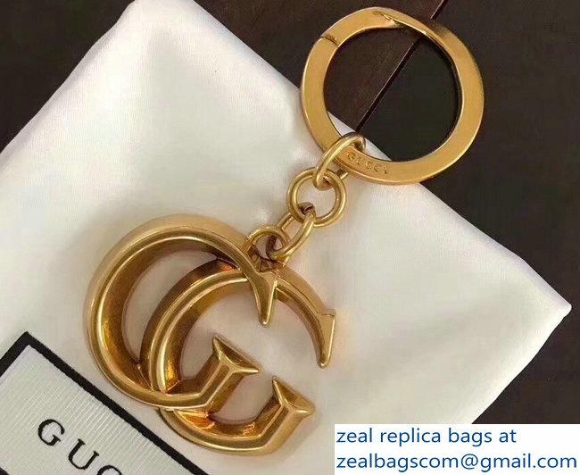 1185d03871fc2 Gucci Double G Key Ring Bag Charm 2018   www.zealbag.ru