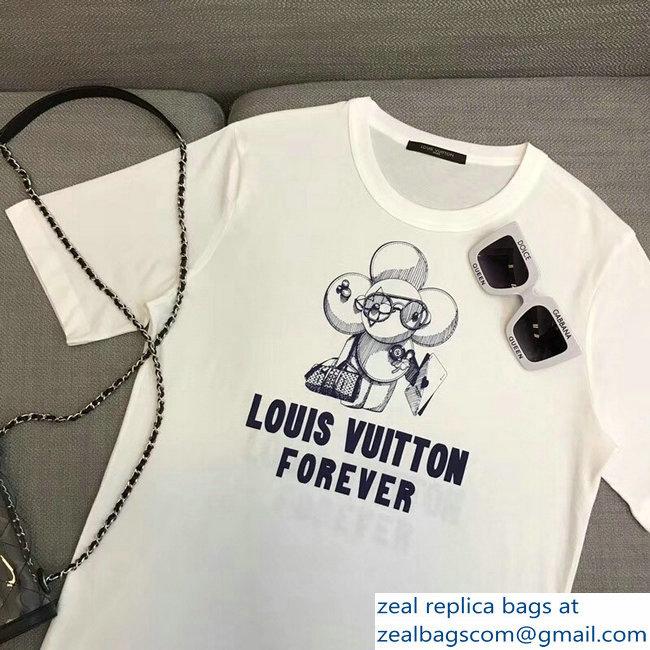 28d544c1742c Louis Vuitton Forever Vivienne Mascot T-Shirt White 2018   www ...