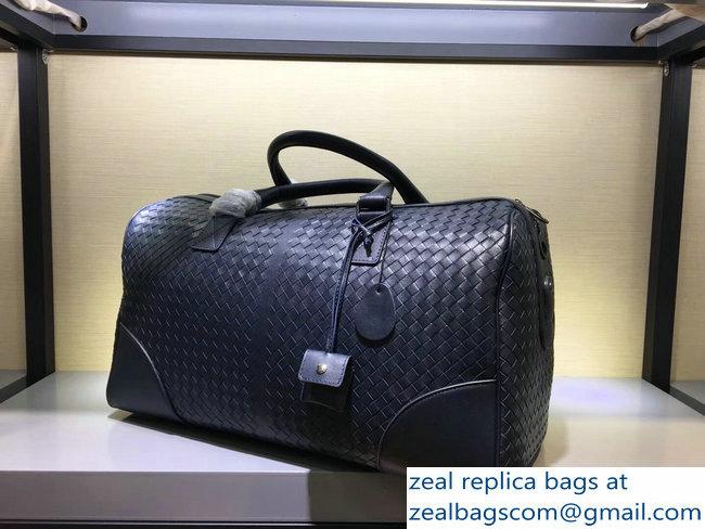 43ce9c5455c9 Bottega Veneta Medium Duffle Bag In Pacific Intrecciato VN   www ...