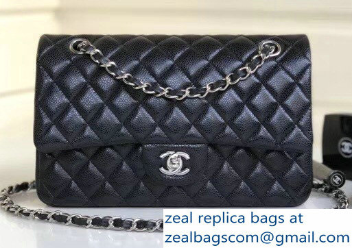 52c97e44bb3 Chanel Chevron Embroidered Python Chain Clutch Bag A94457 Silver 2016   449.00. Chanel Pearl Caviar Leather Classic Flap Medium Bag Black 2018