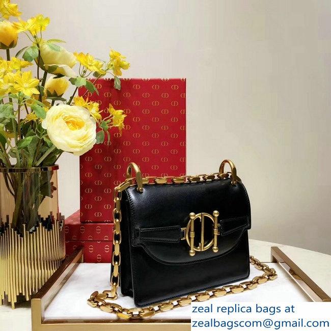 Dior Diordirection Flap Bag in Shiny Lambskin Black 2018   www ... 936565ed5b112