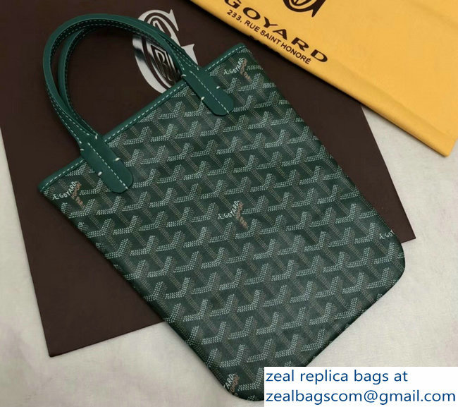 Goyard Limited Edition Poitiers Tote Bag Green