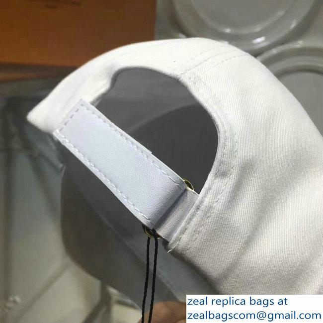 Louis Vuitton Forever Vivienne Mascot White Baseball Hat Cap 2018 ... 67aef5a5475