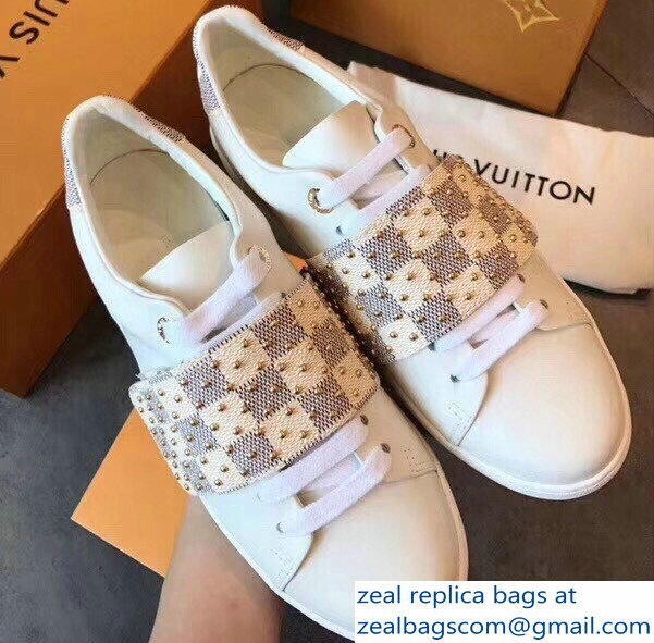 Louis Vuitton Velcro Strap Frontrow Sneakers 05 2018