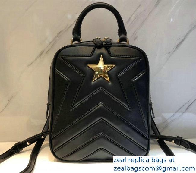 f4d27a8de8d5 Stella Mccartney Quilted Stella Star Backpack Bag Black 2018   www ...