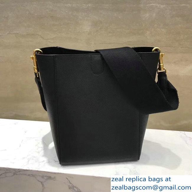 9cbb0cc416ac Celine Sangle Small Bucket Bag In Soft Grained Calfskin Black   www ...