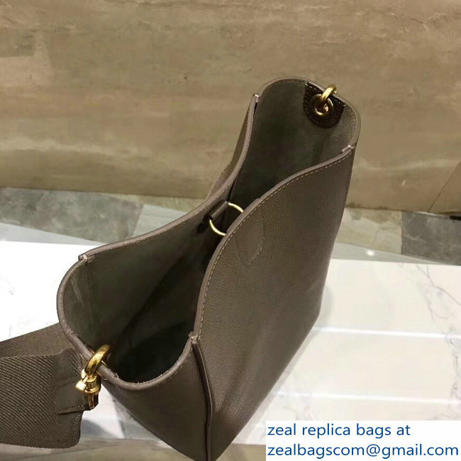 d73b6abac53c Celine Sangle Small Bucket Bag In Soft Grained Calfskin Etoupe   www ...