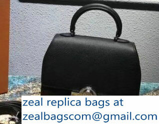 Moynat Mini Rejane BB Bag in Epsom Leather Black