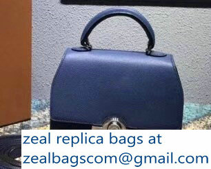 Moynat Mini Rejane BB Bag in Epsom Leather Blue