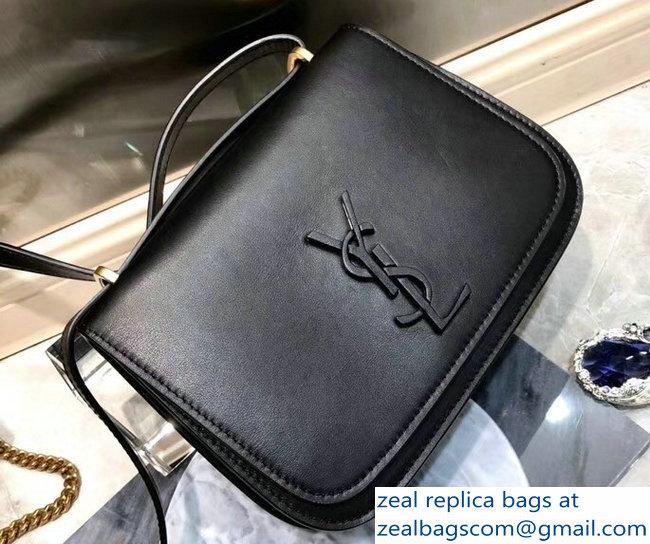 d2cbf23738 Saint Laurent Spontini Small Satchel In Smooth Leather Bag 512853 Black 2018